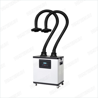 Low Noise Beauty Nail Salon Fume Extractor / Nail Smell Purifying System 3 Filters/fume extraction system