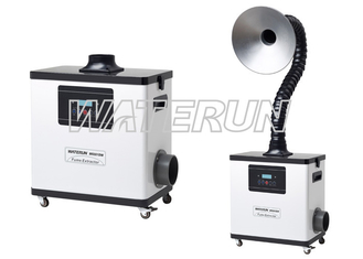 Digital Nail Salon Fume Extractor Machine , Beauty nail salon source capture system