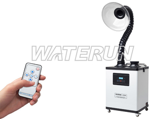 Adjustable Digital Hair Salon Fume Extractor System Air Purifying With Handrail